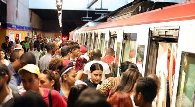 Línea II del Metro de Santo Domingo presenta problemas