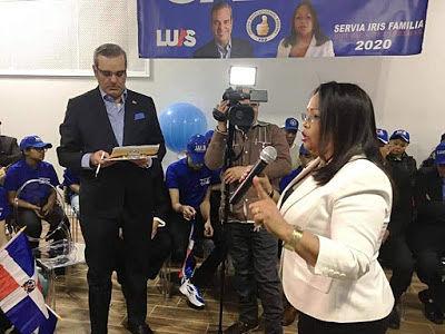 Leonardo Faña oficializa movimiento de apoyo a Luis Abinader