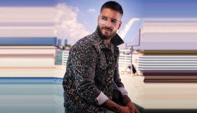 """Maluma sorprende al cantar """"Corazón"""" en un aeropuerto"""