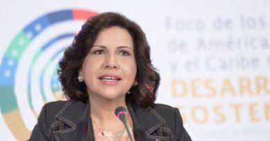 Vicepresidenta dice acción de Domínguez Brito envía mal ejemplo al partido y a la población