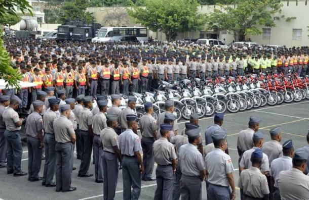 ALEGRÍA :Ascienden a más de 7 mil miembros del Ejército, la Armada y la Policía de la RD