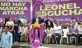 NO HAY MARCHA ATRÁS DICE: Leonel Fernández ante cientos de seguidores: En defensa de la Constitución