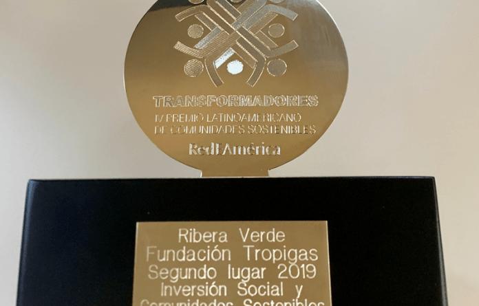 EN HORA BUENA ;Fundación Tropigas gana premio Latinoamericano de Comunidades Sostenibles