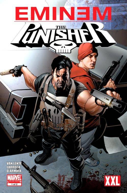 Eminem expresa su molestia a Netflix por la cancelación de The Punisher