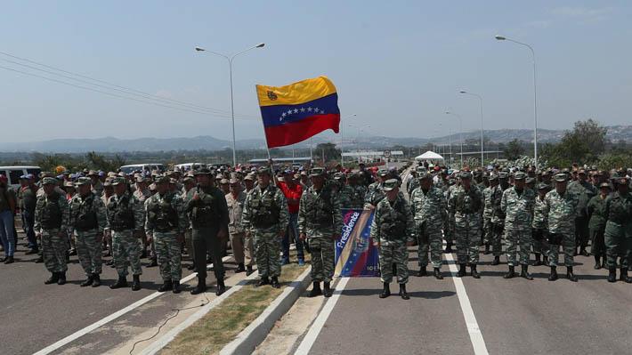 """Venezuela rechaza sanciones de EE.UU. a altos mandos de las fuerzas de seguridad: Lo acusa de """"amenazar"""" a los militares"""