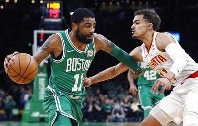 Irving anota 30 y Celtics vencen 129-120 a Hawks