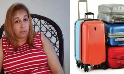 Mujer denuncia que le saquearon 5 maletas que trajo de los Estados Unidos