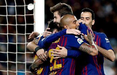 Sudamericanos en Europa: Messi y Suárez aseguran el liderato, Rondón remonta para el Newcastle