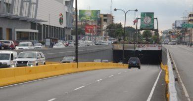 MOPC anuncia cierre a partir de este lunes de pasos a desnivel y túnel de la 27