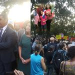 Espaillat confirma ICE espió una vigilia que convocó contra supremacistas blancos en parque del Alto Manhattan