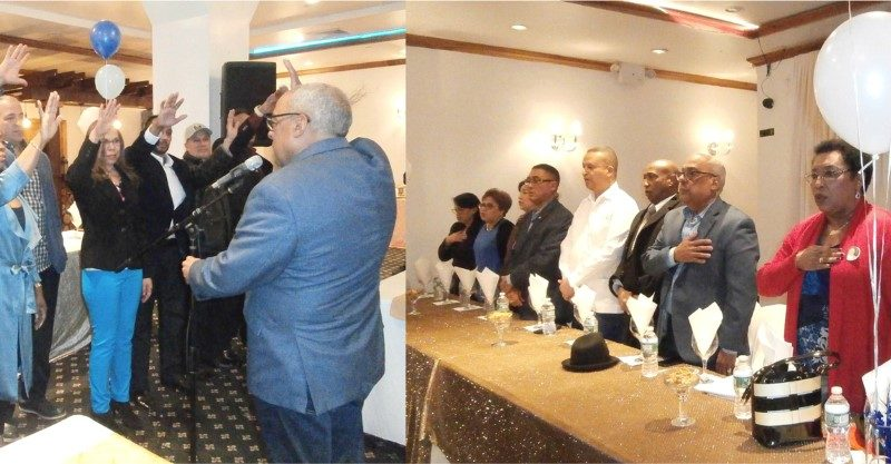 Proyecto H20 juramenta comando de precampaña en Queens para fortalecer aspiraciones de Hipólito