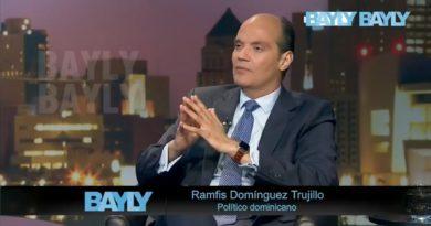 La corrupción estatal en RD indigna a periodista Jaime Bayly en entrevista a Ramfis Domínguez Trujillo
