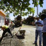 Alcaldíade Boca Chica inicia preparación para el asfaltado de calles en Brisa del Norte.