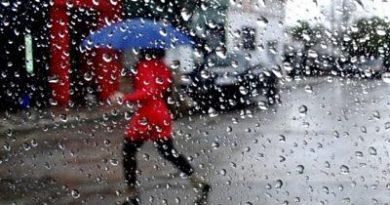 Onamet: Vaguada provocará lluvias dispersas en varias zonas del país