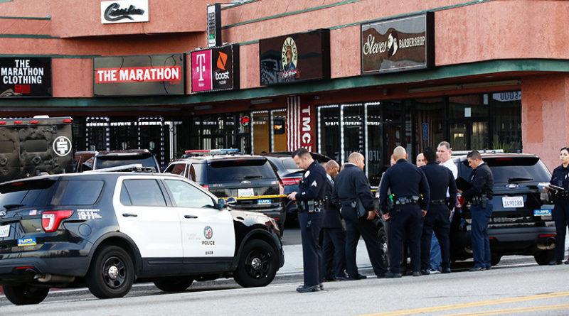 Una decena de lesionados en un homenaje al rapero Nipsey Hussle, asesinado a tiros