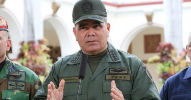 """ATENCIÓN: Ministro de Defensa venezolano: """"La FANB se mantiene firme en defensa de la Constitución y sus autoridades legítimas"""""""