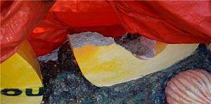 ALERTA :Desconocidos destruyen letras parador fotográfico de Río San Juan