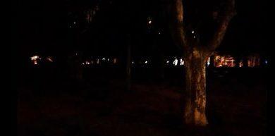 ALERTA ; Hacen llamado a Ayuntamiento de SJM, para iluminación lado plazoleta Anfiteatro
