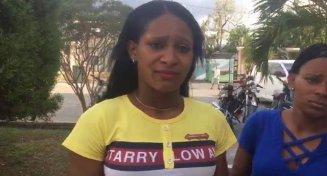 ATENCIÓN : Mujer denuncia agentes de la Dican supuestamente implantaron droga a su esposo