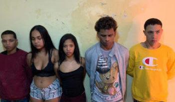ATRAPADOS : Policía Nacional desmantela banda, había robado varias prendas.
