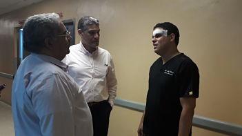 ATRAPAN A FAMILIA QUE LE ENTRÓ A TROMPADAS A MÉDICO ; Detienen familiares y paciente que agredieron a médico en el hospital Darío Contreras