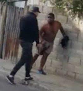 Agente DNCD dispara a quemarropa a civil que intentaban apresar