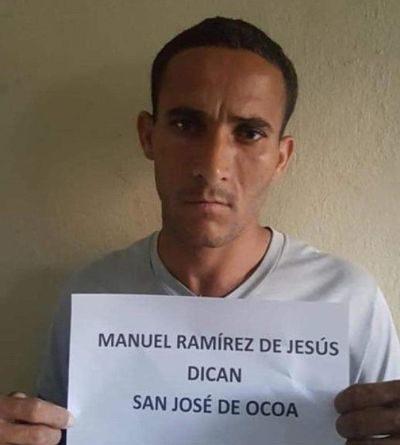 Apresan en Ocoa a un presunto microtraficante de drogas