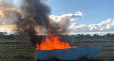 Armada RD intercepta embarcación usada para viajes ilegales hacia PR
