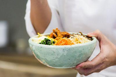 Cómo hacer un exquisito arroz coreano o Bibimbap