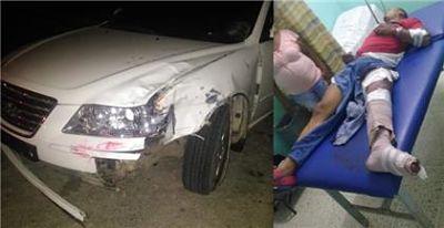 CHOQUE : Conductor borracho arrolló hombre en Arenoso