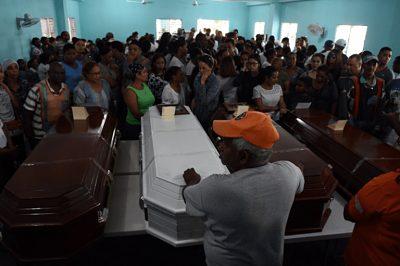 Camión involucrado en choque en que murió familia cristiana se dirigía a Haití