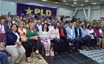 Con Leonel Fernández se inicia reunión del Comité Central del PLD
