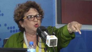 Consuelo Despradel apoya la reelección del presidente Danilo Medina y llama corrupta a la Iglesia