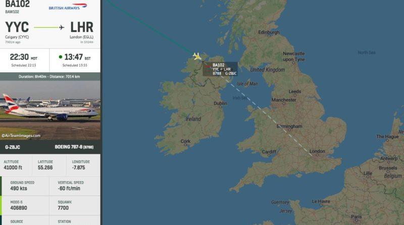 ALERTA : Declaran una emergencia en un vuelo de British Airways