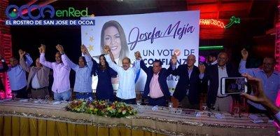 DALE JOSEFA ! Josefa Mejía toma la delantera y oficializa su precandidatura en el PLD