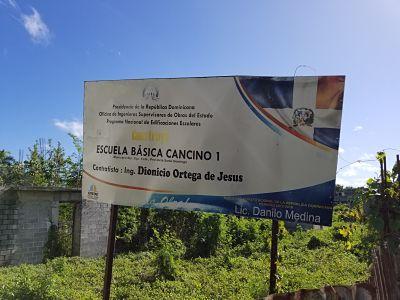 DECEPCIÓN: Diputado Alexis Jiménez solicita terminación de escuela en Cancino Adentro