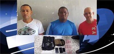 Detienen tres hombres en Salcedo con supuesta marihuana