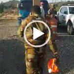 Dicen si no lo ayudan turba de haitianos mata joven militar dominicano