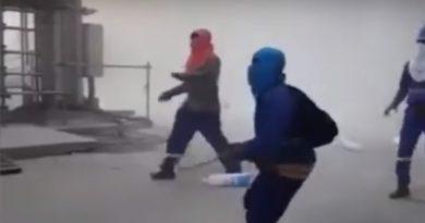 ALERTA : Bombas, tiros y piedras en planta Punta Catalina; obreros causaron desórdenes