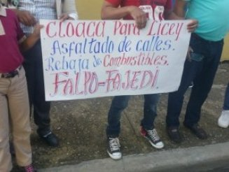 FALPO: Llaman a paro de labores en comunidades de Licey y Moca para el 6 de mayo
