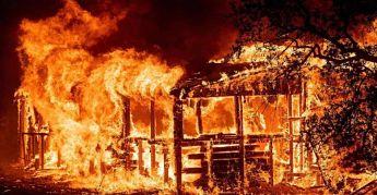 FATAL:Tres personas resultan heridas tras incendio en su vivienda en Jarabacoa