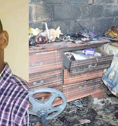 FUEGO;Hombre muere calcinado tras incendiarse vivienda