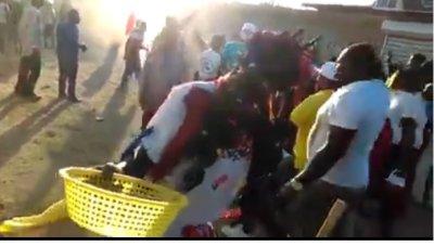 INSÓLITO Haitianos realizan ritos de Vudú en vía pública de Montecristi