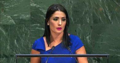 Marjorie Espinoza había interpuesto una querella por violencia contra esposo el día que este se presentó a la Cancillería