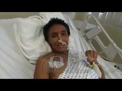 Mujer denuncia que le perforaron los intestinos durante cirugía para extraer mioma