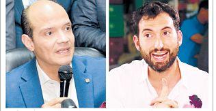 Ramfis Domínguez Trujillo y Karim Abu Naba' a están fuera de competencia