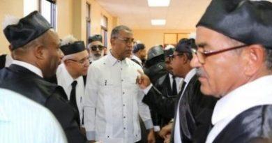 Reenvían audiencia de revisión de medida de coerción contra ex fiscal de Dajabón