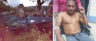 UN MILAGRO DE DIOS :Hombre cae de barranco y salva la vida milagrosamente, familiares dan gracias a Dios
