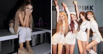 Ariana Grande comparte fotografía con Blackpink y emociona a fans