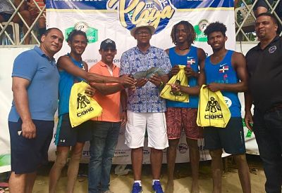 Cabarete y Primas triunfan en Voleibol Playero 2019